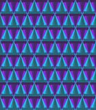 3D rendering of cone crystal material pattern Stock Photos