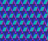 3D rendering of cone pattern Stock Image