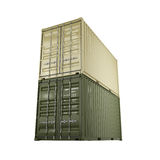 3D rendering container Royalty Free Stock Images