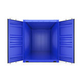 3D rendering container Stock Photos