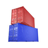 3D rendering containers Stock Photography