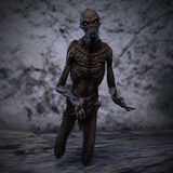 3D rendering of a creepy monster Royalty Free Stock Images