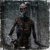 3D rendering of a creepy monster Royalty Free Stock Photography