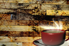 3d rendering Cup of coffee Stock Photos