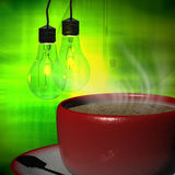 3d rendering Cup of coffee Royalty Free Stock Photo
