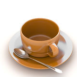 3d rendering Cup of coffee Royalty Free Stock Photography