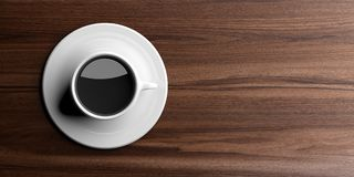 3d rendering cup of coffee Stock Image