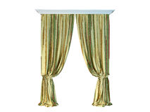 3D rendering of a curtain Royalty Free Stock Image