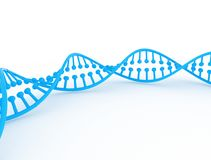 3D rendering dna Zdjęcia Royalty Free