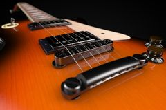 3D rendering a Electric Guitar Royalty Free Stock Photography
