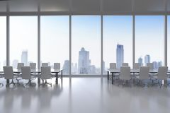 Empty conference room Royalty Free Stock Image