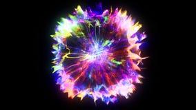 3D rendering of explosion, smoke, effect shock wave and diverging waves. 3D rendering of explosion, smoke, shock wave and divergent waves, isolated on black Stock Photos
