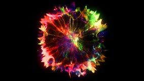 3D rendering of explosion, smoke, effect shock wave and diverging waves. 3D rendering of explosion, smoke, shock wave and divergent waves, isolated on black Stock Image