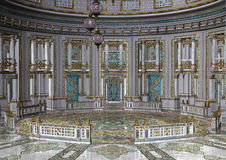 3D Rendering Fairy Tale Palace Royalty Free Stock Image
