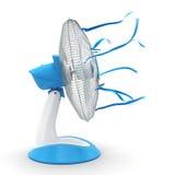 3D rendering fan Stock Images