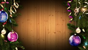 3D rendering of a bright festive Christmas frame will help create an amazing magical atmosphere. 3D-rendering of a festive Christmas frame will help create an vector illustration