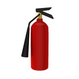 3D Rendering of fire extinguisher for emergency Stock Photos