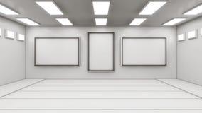 Futuristic interior design background Royalty Free Stock Photos