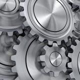 3d rendering gears Stock Image