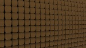 3d rendering of geometic, seamless, simple pattern of cube shape Stock Photos