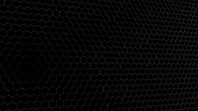 3D rendering of geometric hexagonal abstract background royalty free stock photography