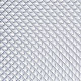 White abstract square pyramidal scale. 3d rendering geometric polygons, as tile wall. Interior room. Snake skin Royalty Free Stock Photo