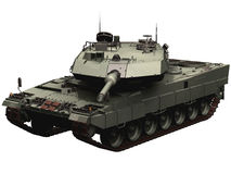 3d Rendering of a German Leopard 2 Tank Stock Image
