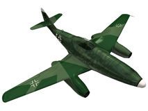 3d Rendering of a German ME262 Stock Photo