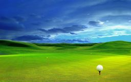 3D rendering, golf ball, royalty free stock photos