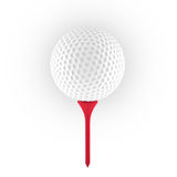 3D rendering of golf ball Royalty Free Stock Photos