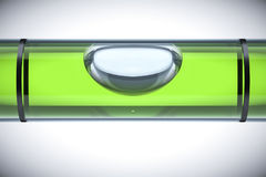 Green spirit level Royalty Free Stock Photos