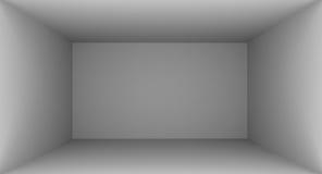 3D Rendering Grey empty room, interior illustration Stock Photo