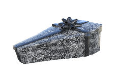 3D Rendering Halloween Gift on White Royalty Free Stock Photo