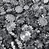 3d rendering gears Stock Images