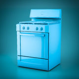 3D rendering household appliances Royalty Free Stock Image