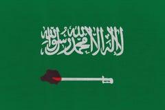 3D rendering idea for investigation into Saudi journalist brutal murder. stock image