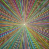 3D Illustration Colorful Abstract Background royalty free stock image