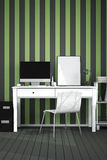 3D Rendering : illustration of modern interior Creative designer office desktop with PC computer. Working place of graphic design.close-up.Mock up.light from Royalty Free Stock Photos
