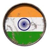 Old India flag Royalty Free Stock Image