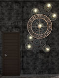 3d rendering of interior design loft style. Royalty Free Stock Photos