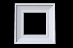 3d rendering of  isolated modern hanging white color photo frame Stock Photo