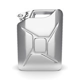 3D rendering jerrycan Stock Images