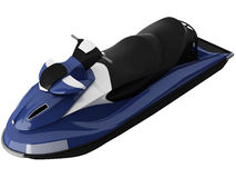 3d Rendering of a Jet Ski Stock Image