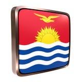 Kiribati flag icon Royalty Free Stock Image