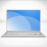 3d rendering of a laptop Royalty Free Stock Photo