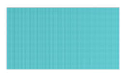 3d rendering of light blue rubber yoga mat for exercise isolated on white background Royalty Free Stock Photography