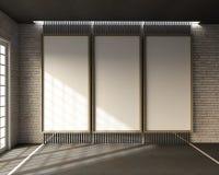 3d rendering loft styl ilustracja wektor
