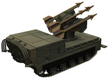 3d Rendering of M730A1 AA Launcher Royalty Free Stock Image