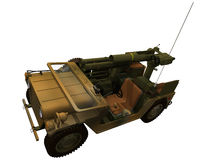 3d Rendering of a M15A2 Royalty Free Stock Images