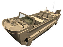 3d Rendering of a M29 Weasel Stock Image